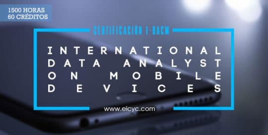 I-DACM International data analyst certification on mobile devices