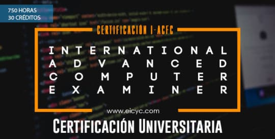 I-ACFC International Advanced computer forensic certified examiner