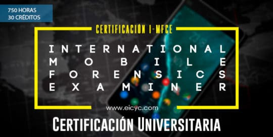 I-MFCE International mobile forensics certified examiner